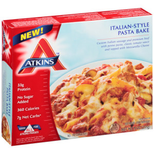 9 of the healthiest low carb frozen meals for Atkins cuisine bread
