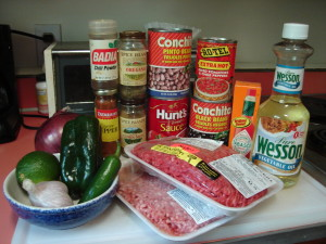 low carb chili ingredients