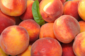 low carb fruits peaches