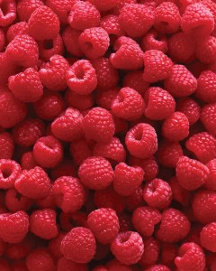 low carb fruits raspberries
