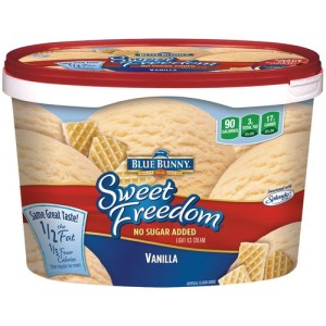 low carb ice cream sweet freedom