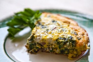 low carb breakfast ideas spinach frittata
