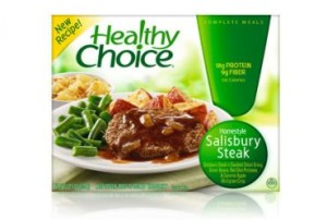 low carb frozen dinners salisbury